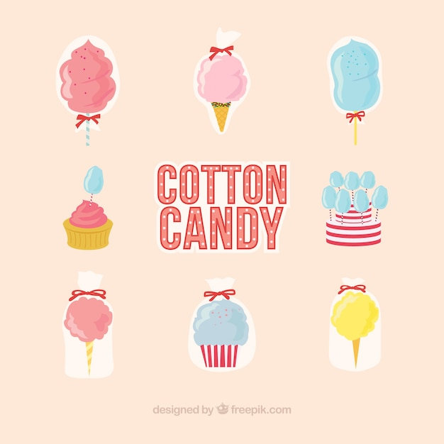 Cool cotton candy collection