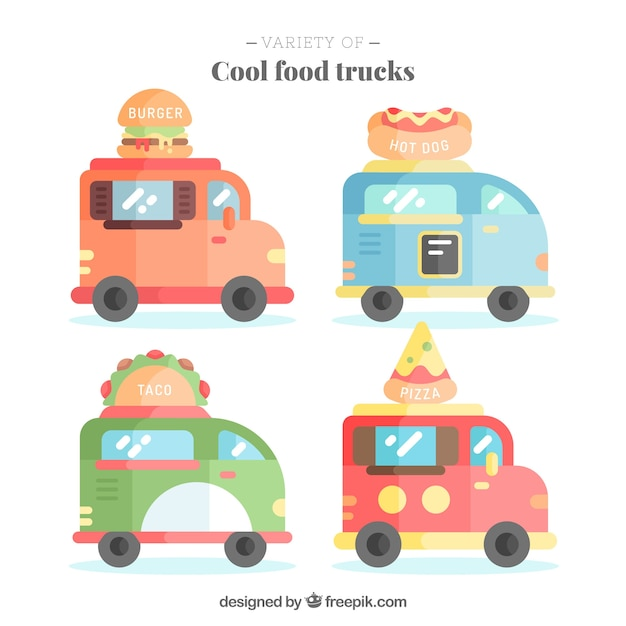 Cool food truck collection