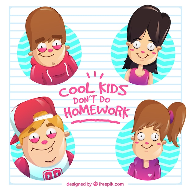 Cool kids don\'t do homeworks