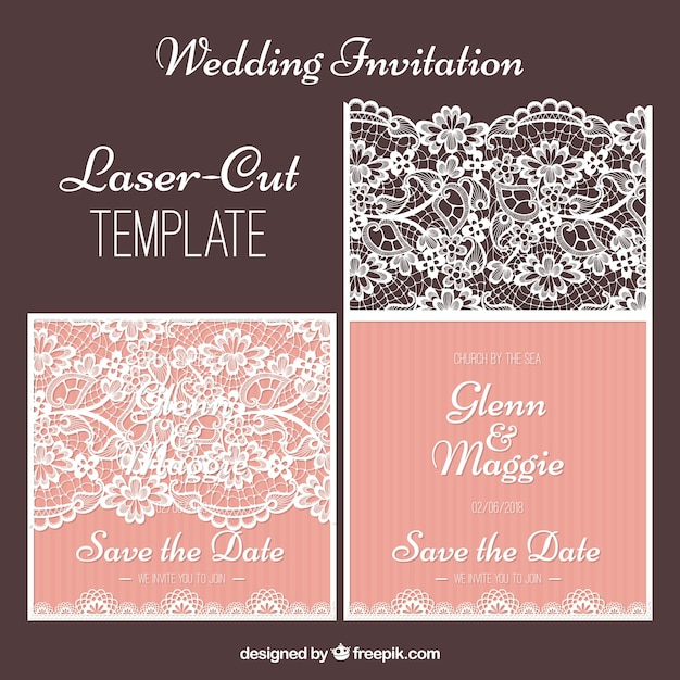 Cool laser cut template Vector | Free Download