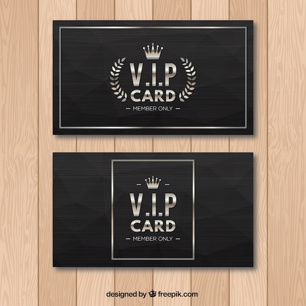 Cool pack of classic vip cards