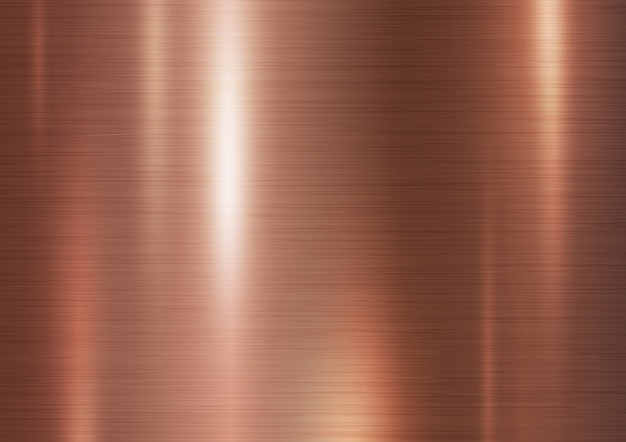Copper metal texture background vector illustration Vector