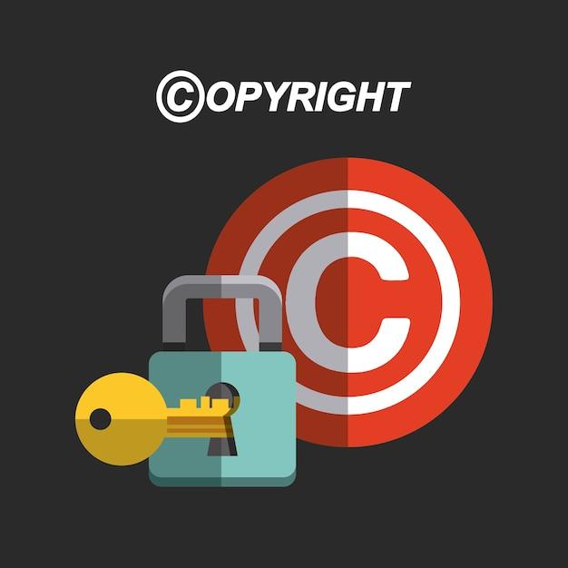 Copyright Symbol Design Vector Premium Download
