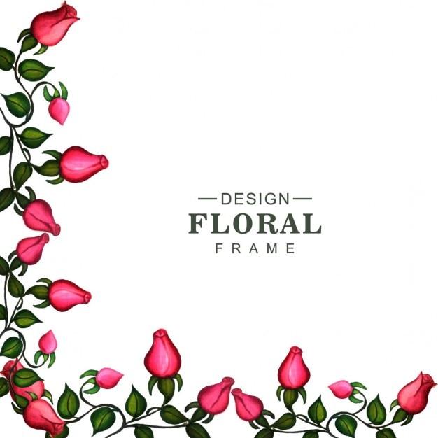 corner of a floral frame vector free download corners clip art download