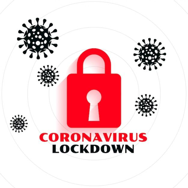 Progettazione del fondo di concetto di arresto pandemico covid-19 di  coronavirus | Vettore Gratis