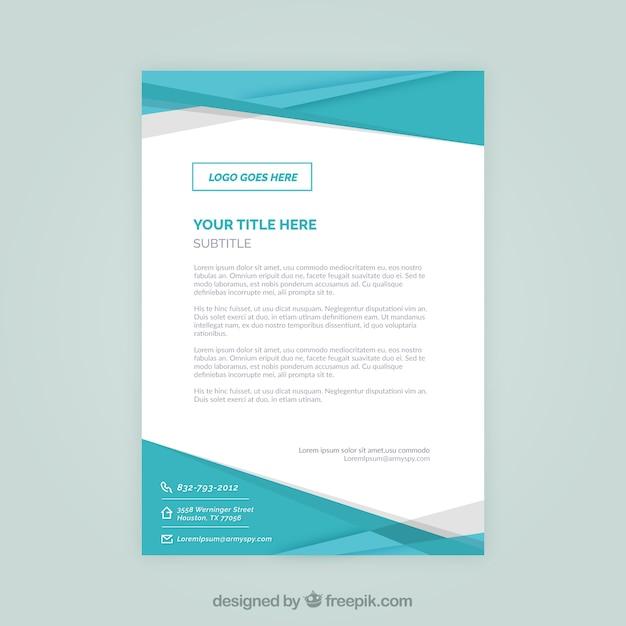 Corporate brochure, blue color