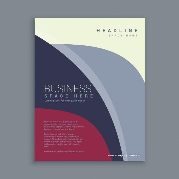 Corporate brochure template Vector – Corporate Brochure Template