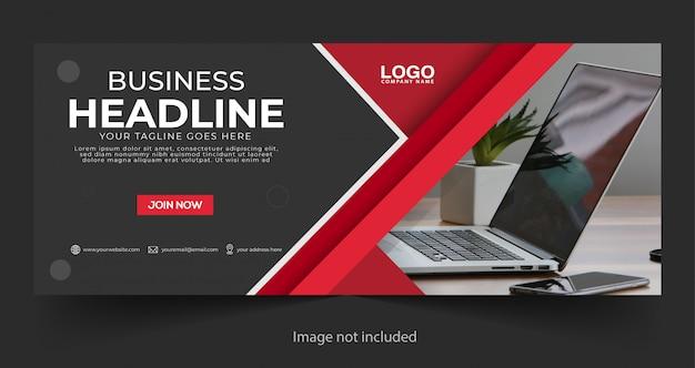 Corporate business banner Premium Vector