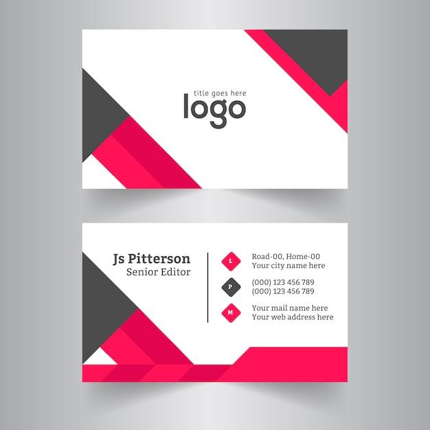Corporate business card design vector premium download corporate business card design premium vector reheart Choice Image
