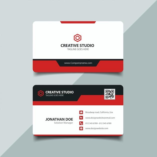 Corporate business card Vector | Premium Download