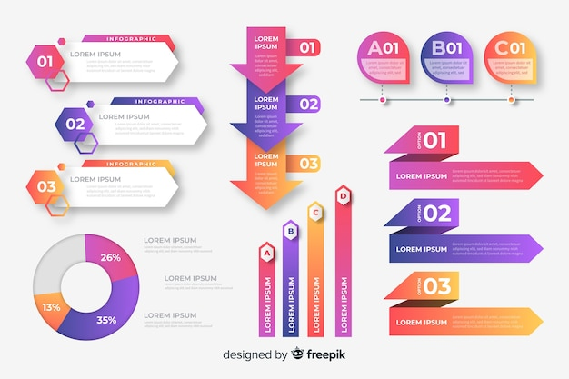 Корпоративный бизнес инфографики шаблон, состав инфографики элементов Premium векторы