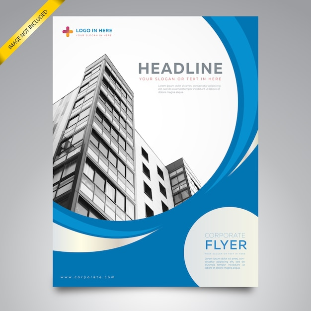 Corporate Flyer Template Vector Premium Download - Corporate brochure template