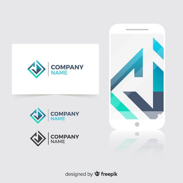Corporate identity Free Vector