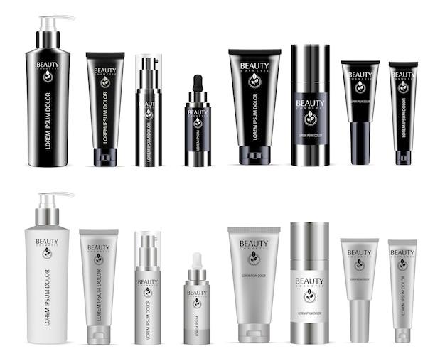 Cosmetic bottle Premium Vector