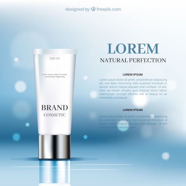 Cosmetic Packaging Design Vector Free Download