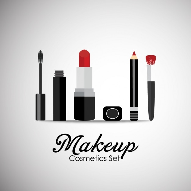 cosmetics background design vector free download