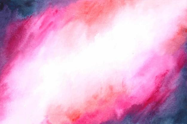 Космическая туманность абстрактного фона акварель Бесплатные векторы