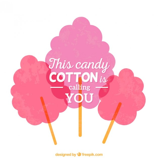 Cotton candy Vector | Free Download