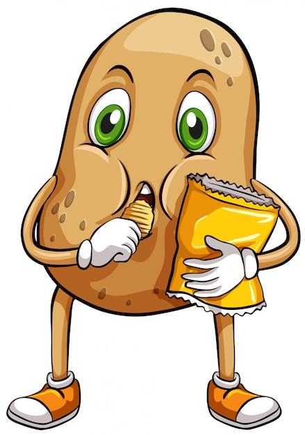 A couch potato Free Vector