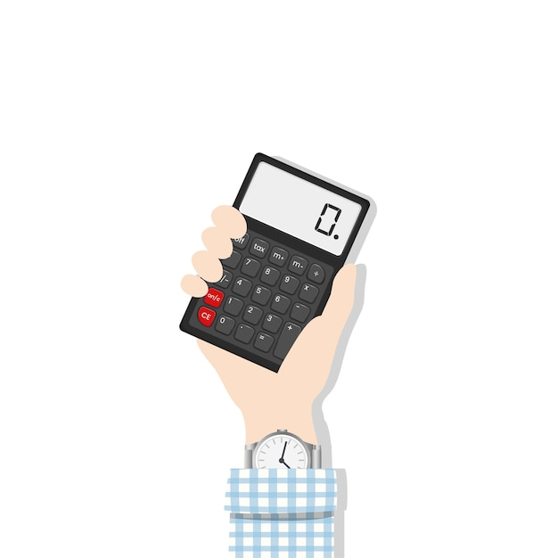Counting device Free Vector