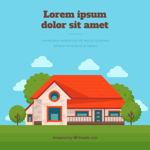 Country house vector free download for Country house online