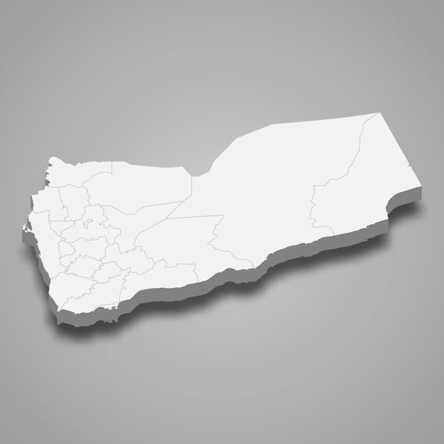 国境のある国の地図 Premiumベクター