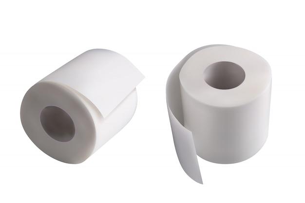 Пара туалетной бумаги Premium векторы
