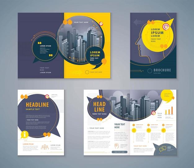 Cover book design Premium Vector