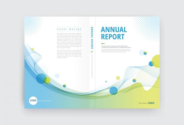 Cover template open Premium Vector