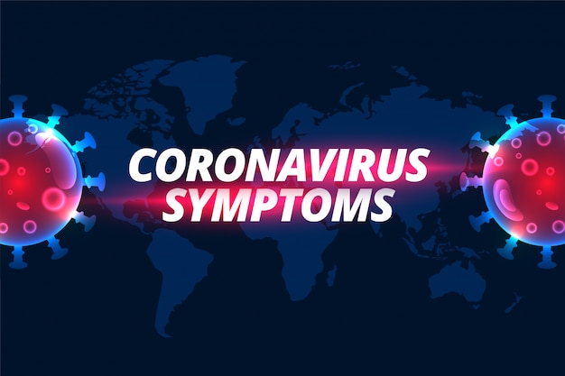 Covid-19 новый коронавирусный дизайн Бесплатные векторы