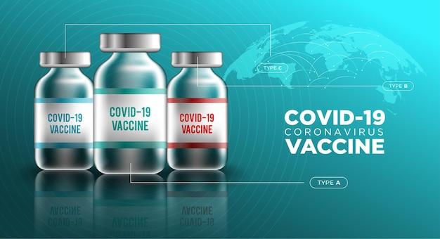 Vaccino contro il covid-19 Vettore gratuito