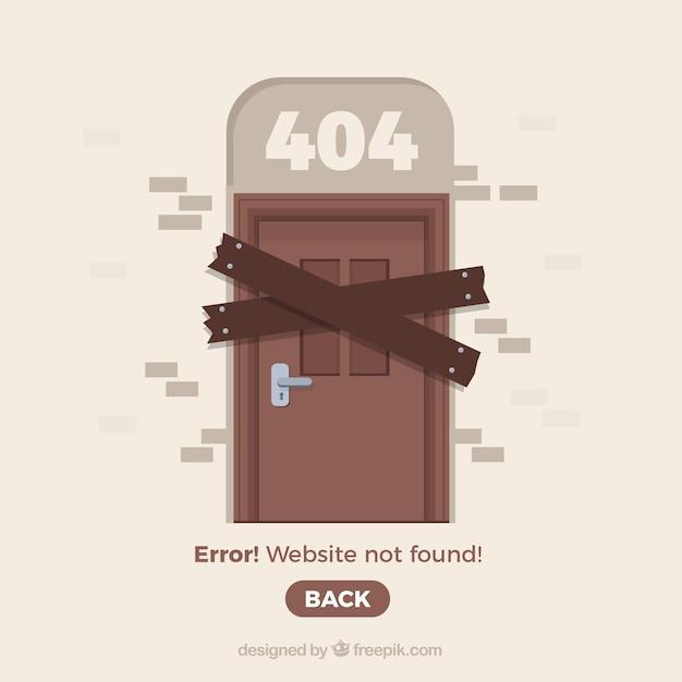 Creative 404 error concept Free Vector