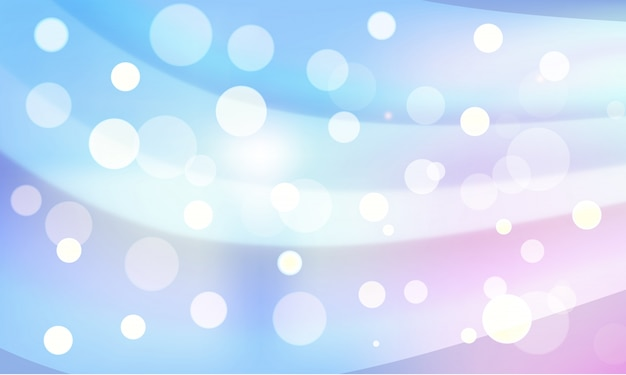 Creative abstract bokeh lights background with waves effect.