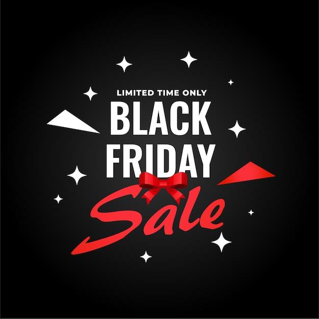 Banner di vendita venerdì nero creativo per lo shopping Vettore gratuito
