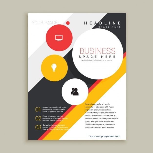 Creative Brochure Template Vector Free Download - Creative brochure templates