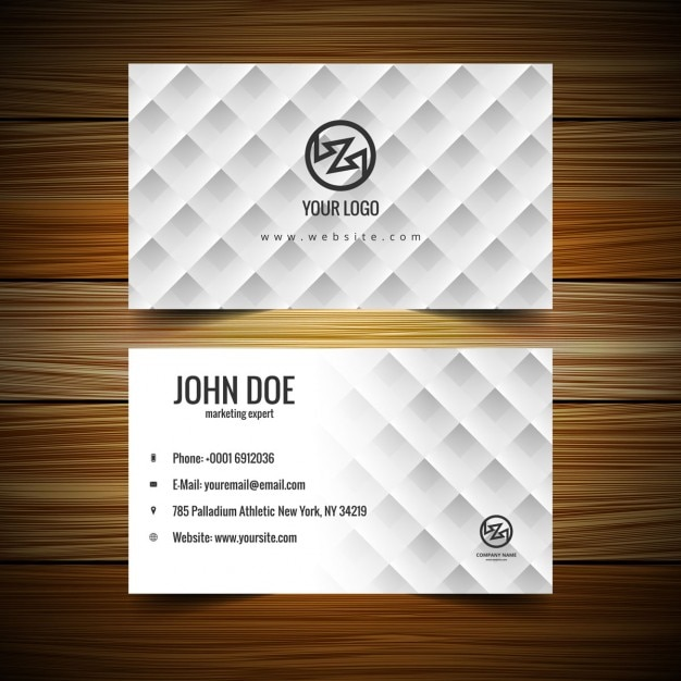 Creative business card template vector free download creative business card template free vector wajeb Image collections
