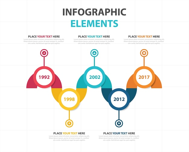 Creative corporate business infographic template