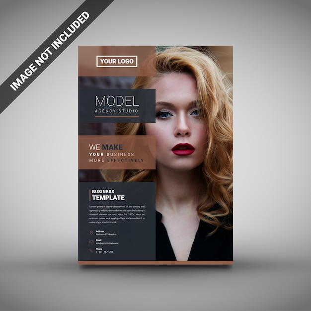 creative creative business flyer vector premium download