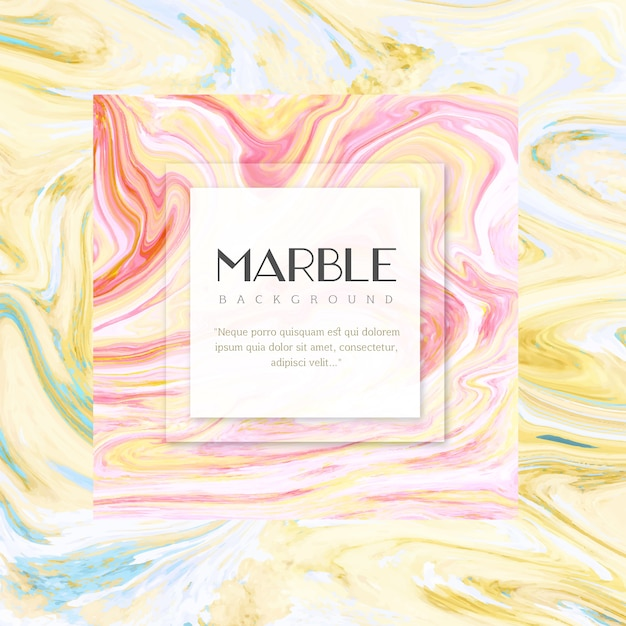Creative creative textured marble background Free Vector