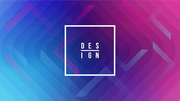 Creative geometric background shapes. Premium Vector