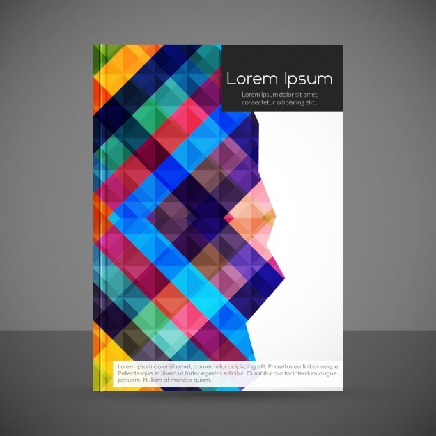 Creative Geometric Flyer Template Vector  Free Download
