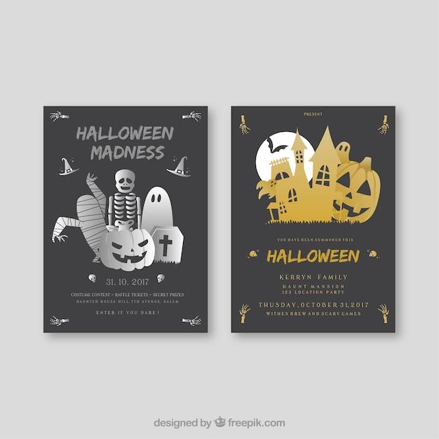 Creative halloween cards