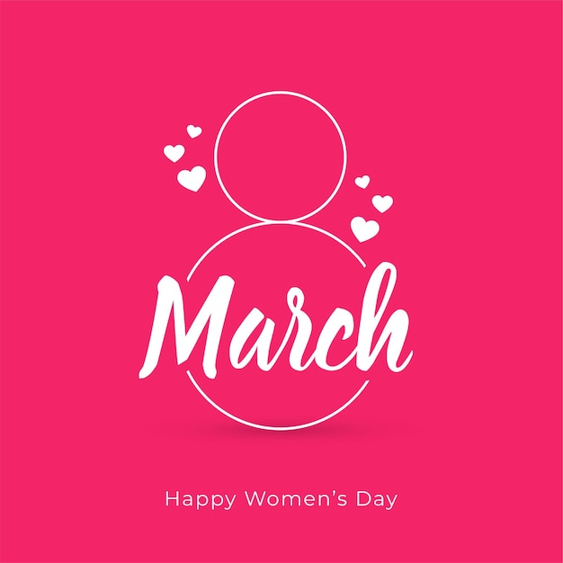Fondo della carta di giorno delle donne felici creative Vettore gratuito