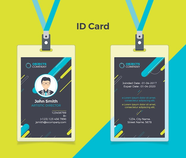 Id Card Design Free Download