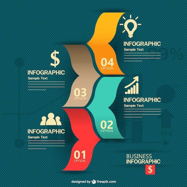 Creative ideas business infographic Vector | Free Download