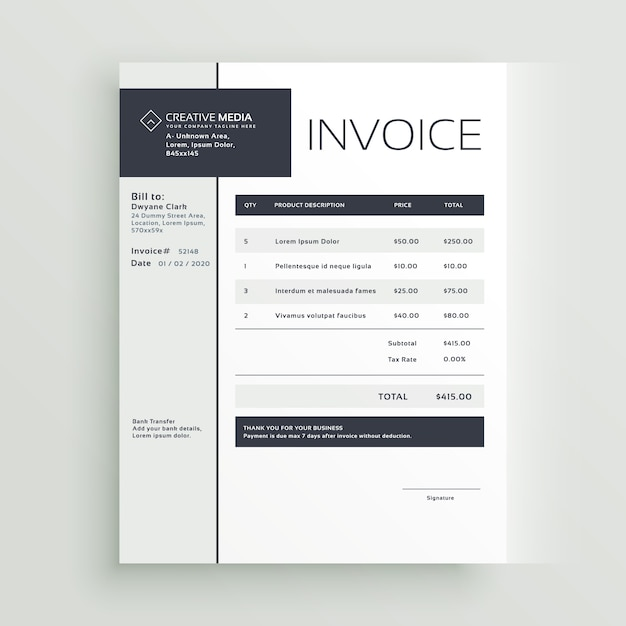 cool invoice template juve cenitdelacabrera co