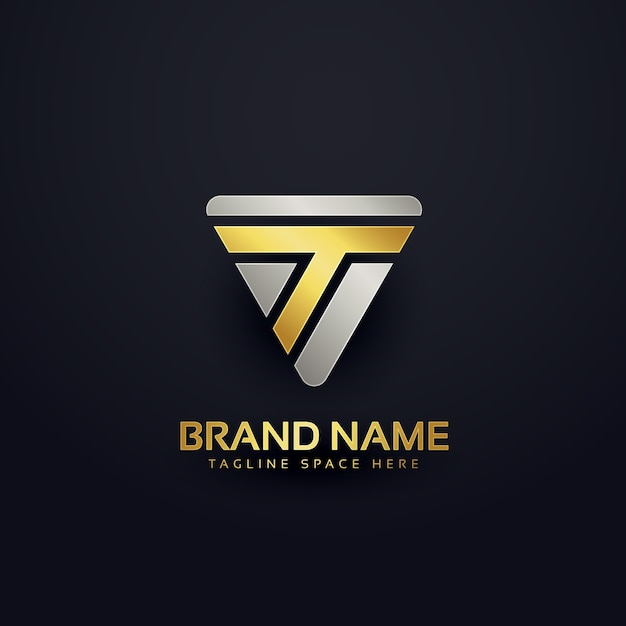 Creative letter t logo concept