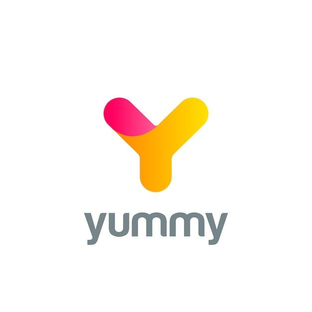 Creative letter y logo icon. Free Vector