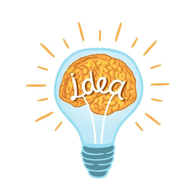 Творческая лампочка | Бесплатно векторы