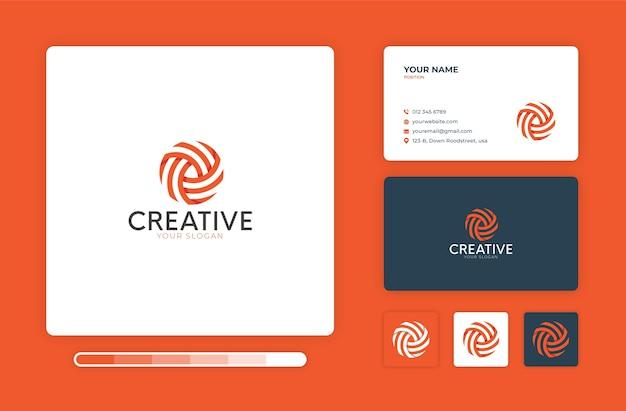 Creative logo design template Premium Vector
